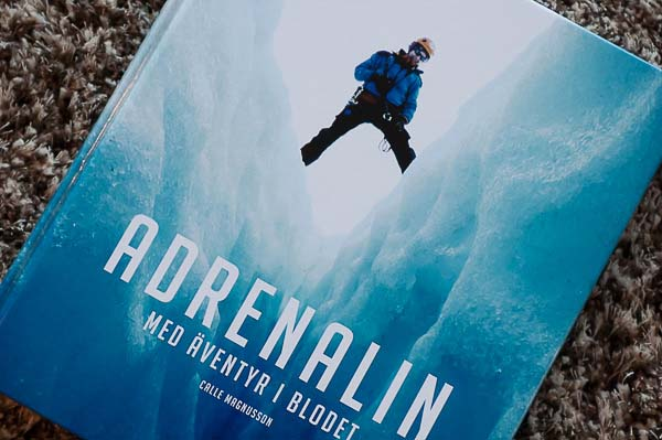 Cover of the Adrenalin book.